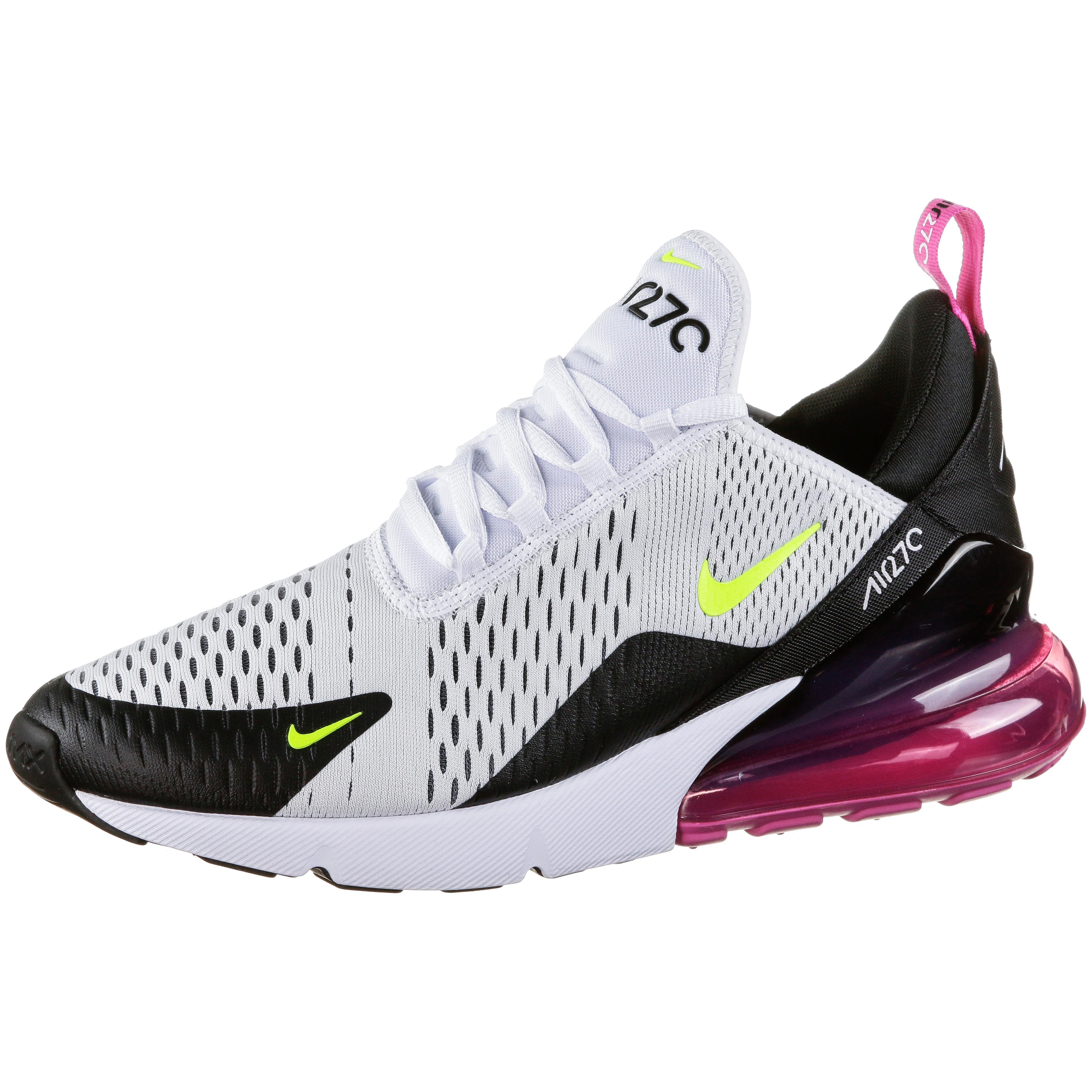 Nike Air Max 270 Sneaker Herren white volt black laser fuchsia im Online Shop von SportScheck kaufen