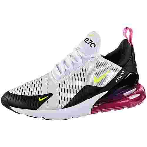Nike Air Max 270 Sneaker Herren white-volt-black-laser fuchsia