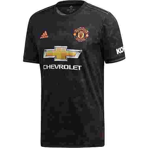 adidas Manchester United 19/20 3rd Fußballtrikot Herren black