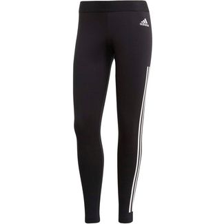 adidas Leggings Damen black-white
