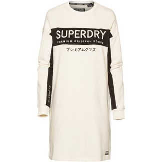 Superdry Longsweat Damen chalk white