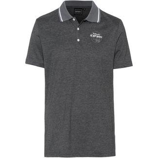 ICEPEAK PRENT Poloshirt Herren black melange