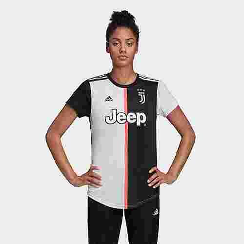 adidas Juventus Turin Heimtrikot Funktionsshirt Damen Black / White