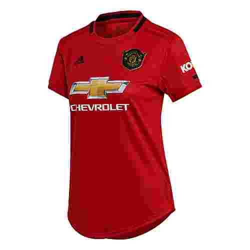 adidas Manchester United Heimtrikot Funktionsshirt Damen Real Red