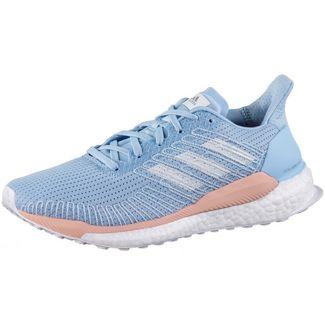 adidas SolarBOOST 19 Laufschuhe Damen glow blue