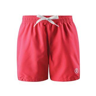 reima Basseterre Badeshorts Kinder Neon Red