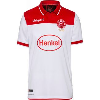 Uhlsport Fortuna Düsseldorf 19/20 Heim Fußballtrikot Herren weiß-rot