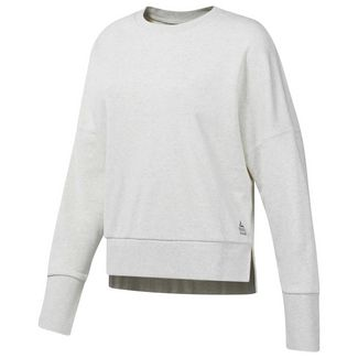 Reebok Funktionssweatshirt Damen White Melange