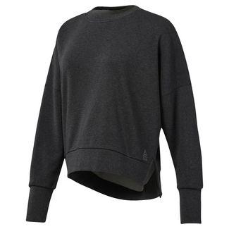 Reebok Funktionssweatshirt Damen Black Melange