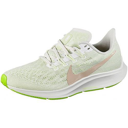 Nike Air Zoom Pegasus 36 Laufschuhe Damen phantom beige barely volt spruce aura im Online Shop von SportScheck kaufen