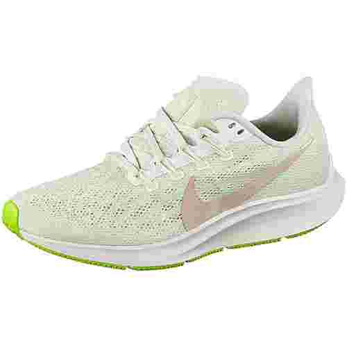 Nike Air Zoom Pegasus 36 Laufschuhe Damen phantom-beige-barely volt-spruce aura