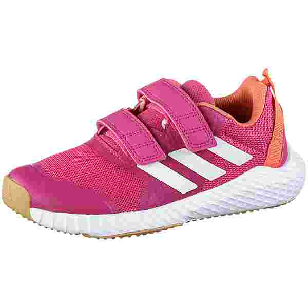 adidas Fortagym Fitnessschuhe Kinder real-magenta