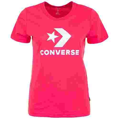 CONVERSE Star Chevron Core T-Shirt Damen rot