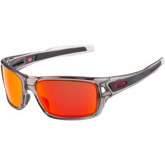 Oakley Turbine Sonnenbrille GREY INK with PRIZM RUBY POLARIZED