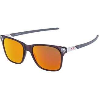 Oakley Apparation Sonnenbrille SATIN BLACK INK with PRIZM RUBY