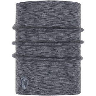 BUFF Heavyweigth Merino Multifunktionstuch fog grey multi stripes