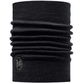 BUFF Merino Heavyweigth Multifunktionstuch solid black