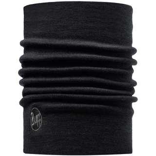BUFF Merino Schal solid black