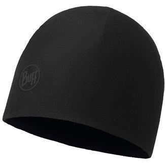 BUFF Microfiber & Polar Beanie solid black