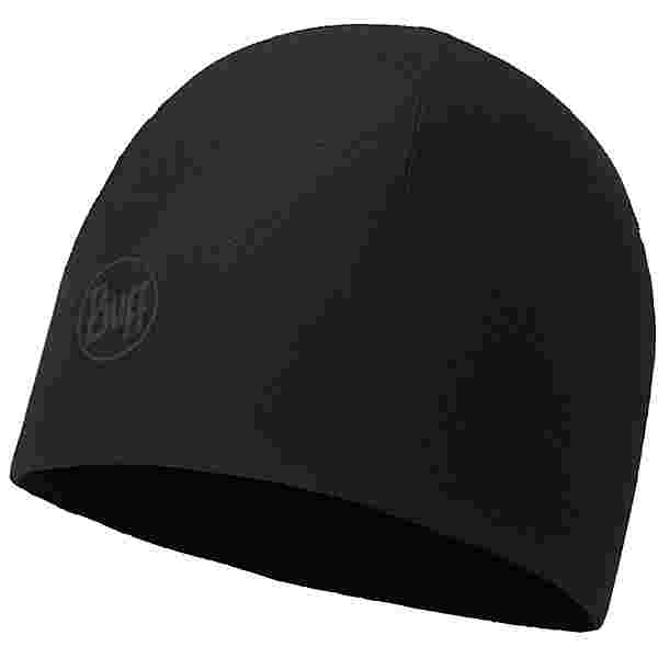BUFF Microfiber & Polar Beanie solid black