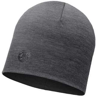 BUFF Merino Heavyweight Beanie solid grey
