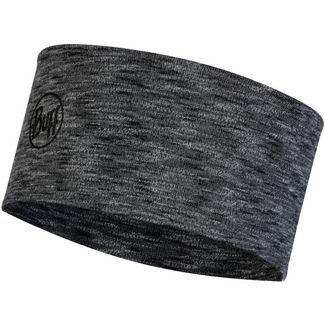 BUFF 2 Layers Midweight Merino Stirnband graphite multi stripes