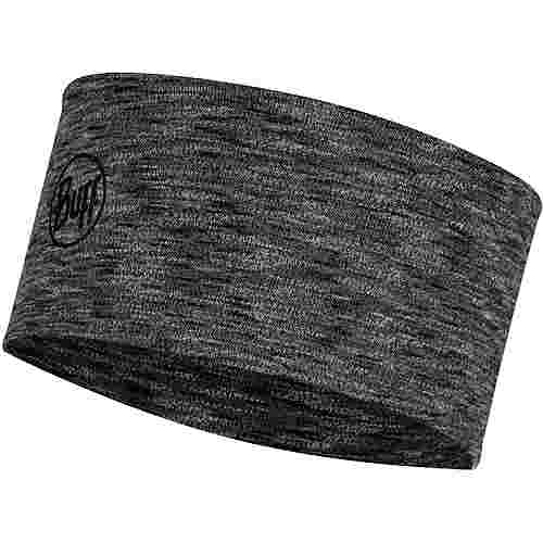 BUFF Merino 2 Layers Midweight Stirnband graphite multi stripes