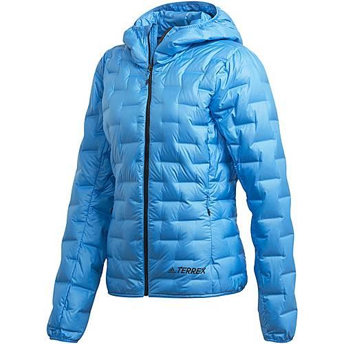 Daunenjacke kaufen Damen blue Shop im Online von adidas Light real SportScheck Down kiTZwOPXul