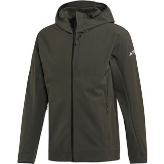 adidas Hi-Loft Softshelljacke Herren legend earth