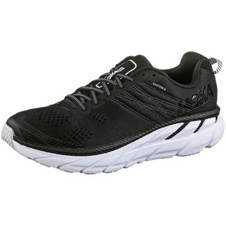 Hoka One One  CLIFTON 6 Laufschuhe Herren black-white