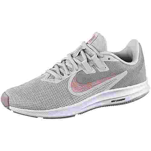 Nike Downshifter 9 Laufschuhe Damen vast grey-rust pink