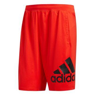 adidas 4KRFT Sport Badge of Sport Shorts Funktionsshorts Herren Active Red
