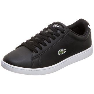 Lacoste Carnaby Evo Sneaker Damen schwarz / weiß