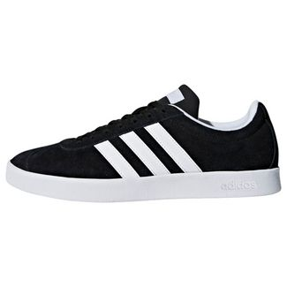 adidas VL Court 2.0 Schuh Sneaker Damen Core Black / Cloud White / Aero Blue