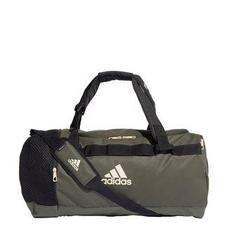 adidas Convertible Training Duffelbag M Sporttasche Herren Night Cargo / Black / Linen