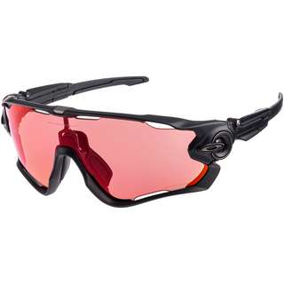 Oakley Jawbraker Sportbrille MATTE BLACK with PRIZM TRAIL TORCH