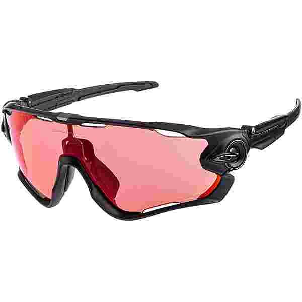 Oakley Jawbraker Sportbrille MATTE BLACK with PRIZM TRAIL TORCH