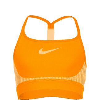 Nike Sports Sport-BH Kinder orange / hellgrün