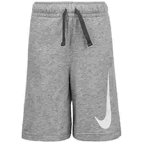 Nike Swoosh Shorts Kinder grau / weiß