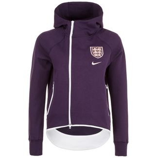 Nike England Tech Fleece Cape Trainingsjacke Damen lila