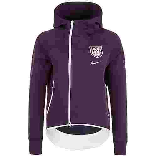 Nike England Tech Fleece Cape Trainingsjacke Damen lila