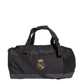 adidas Real Madrid Duffelbag M Sporttasche Herren Black / Dark Football Gold