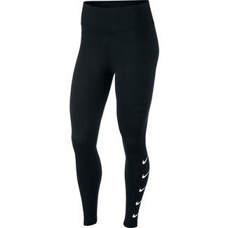 Nike Swoosh Lauftights Damen black-white