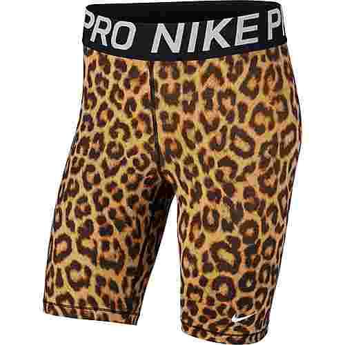 Nike Tights Damen club gold-black-white