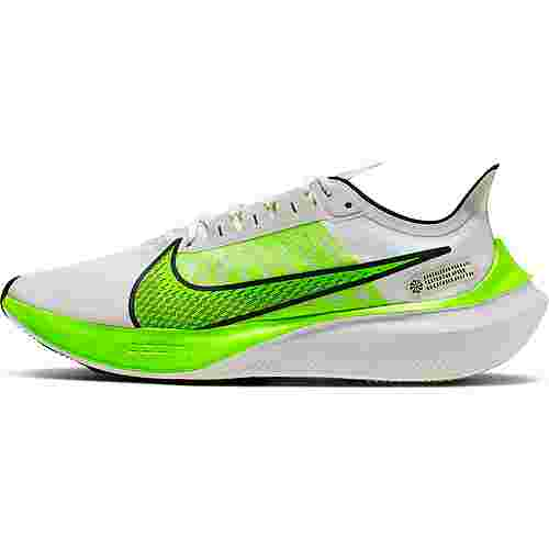 Nike Zoom Gravity Laufschuhe Herren platinum tint-electric green-black-white