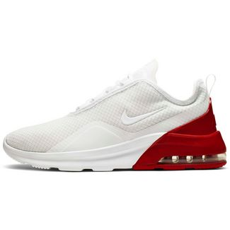 Nike Air Max Motion Sneaker Herren white-white-university red-platinum tint