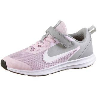 Nike Downshifter Laufschuhe Kinder pink-foam-white-mtlc-silver-pure-platinum