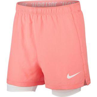 Nike Dry Funktionsshorts Kinder pink-gaze-white-white