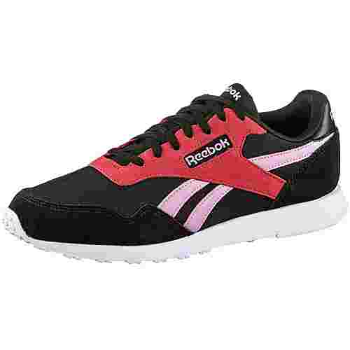Reebok Royal Ultra Sneaker Damen black-light pink-pink