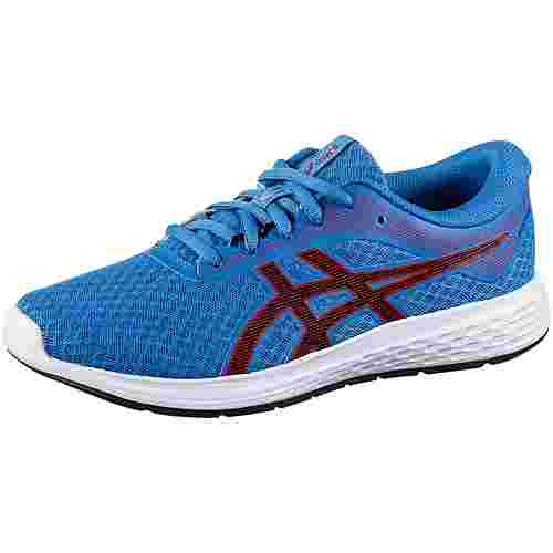 ASICS Patriot 11 Laufschuhe Kinder electric-blue-speed red